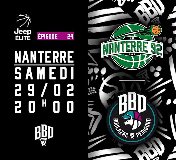J24 BBD vs NANTERRE