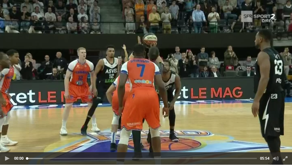 [VIDEO] Boulazac Basket Dordogne - ASVEL sur SFR Sport