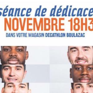 [Dédicaces] Séance de dédicaces mercredi 29 novembre à Decathlon Boulazac