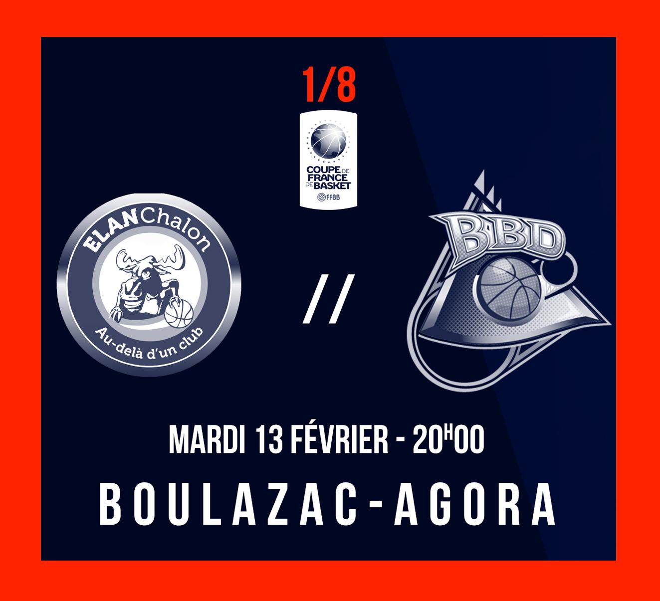 1 8 me de finale de coupe de france boulazac basketball - 8eme de final coupe de france ...