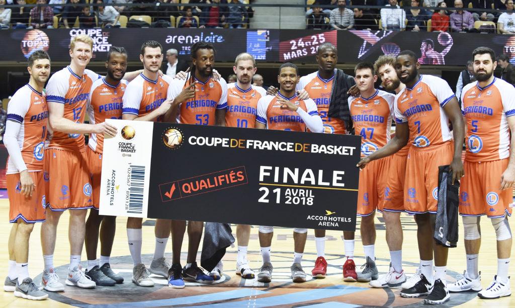 Top 8 2018Demi-finalesLevallois Metropolitans-Boulazac BD
