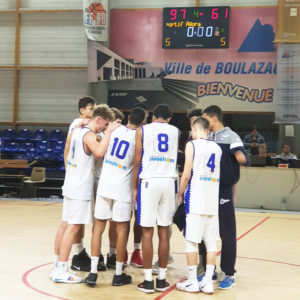 U18 ELITE – LE BBD CONFORTE SA SECONDE PLACE.