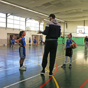 INTERVENTIONS EN SECTION BASKET