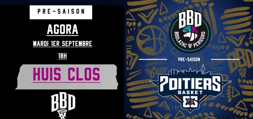 Boulazac vs Poitiers Basket à Huis Clos