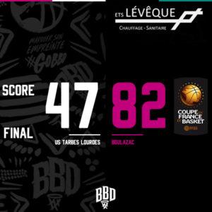 Le BBD qualifié pour les 32ème de Finale de la Coupe de France !