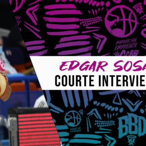 La courte interview d'Edgar Sosa