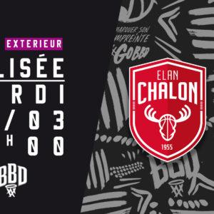 Chalon vs BBD – mardi 16 mars