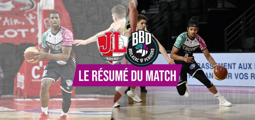 Le debrief – JL Bourg vs BBD