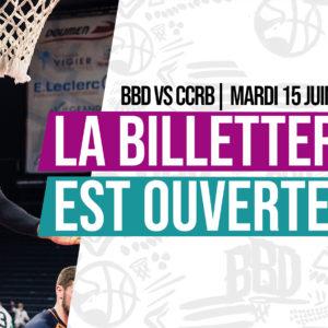 Participez au match BBD vs CCRB