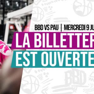 Participez au match BBD vs Pau