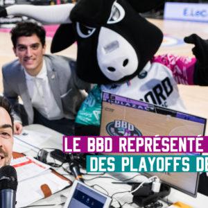Pierre Bonneau et Johan Dufour en playoff