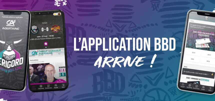 Le BBD lance son application