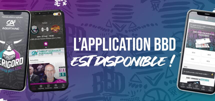 L'application BBD est disponible !