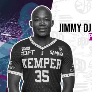 Jimmy Djimrabaye en attendant le retour d'Olivier Cortale